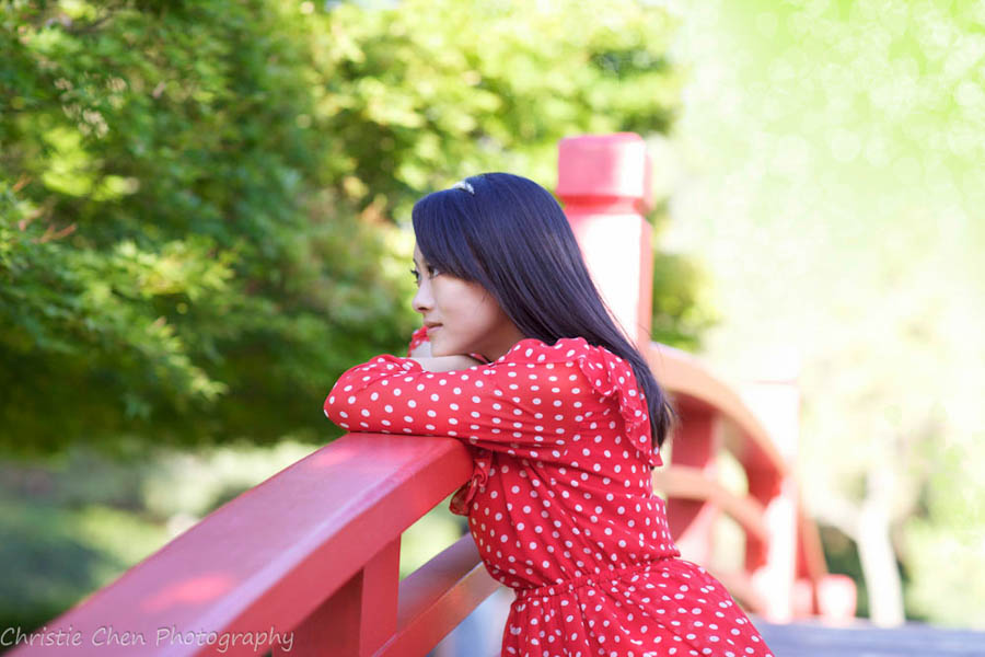 San Jose Japanese Friendship Garden Portrait