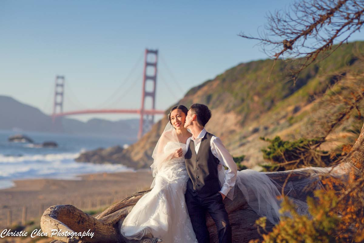 San Francisco Golden Gate Bridge Pre-wedding