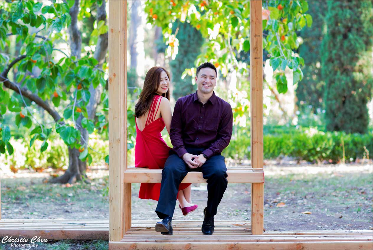 Vila Montalvo Engagement Photography
