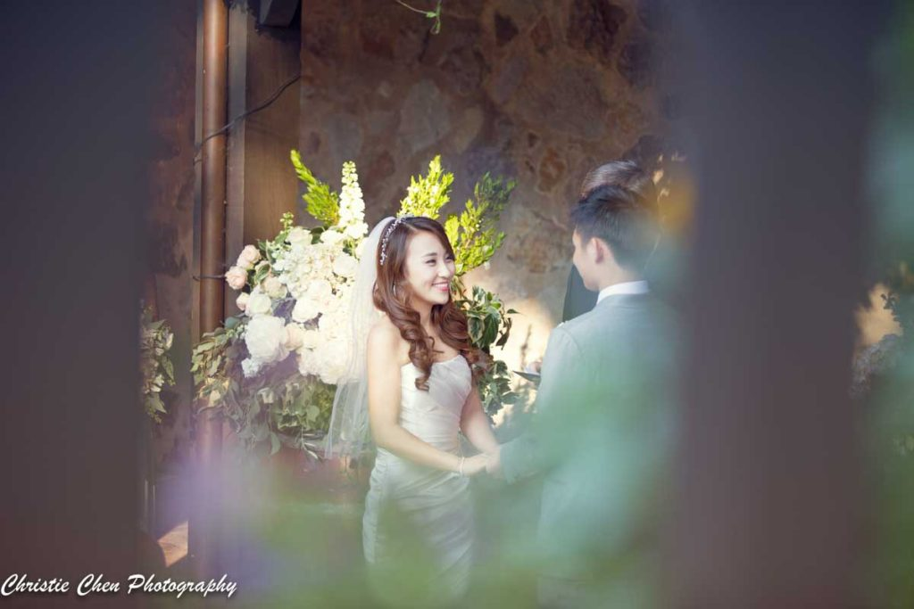 v sattui winery wedding ceremony